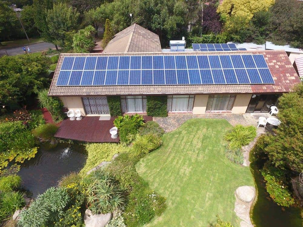 Green Home with Solar - Image by AdSolarTech