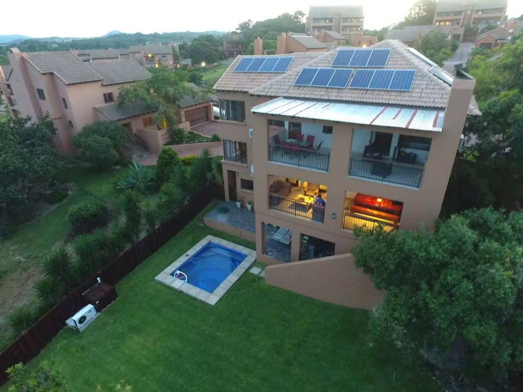 Home with Light and Solar - Image by AdSolarTech