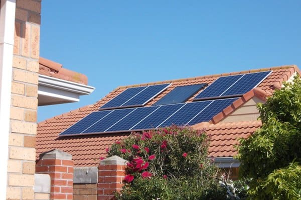 Solar Panels On Roof - Image by NETHERBY SOLAR